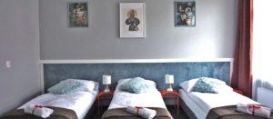 Pokój trzyosobowy Comfort w Hotelu Expolis Residence baner