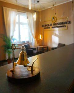 Recepcja Hotelu Expolis Residence #5